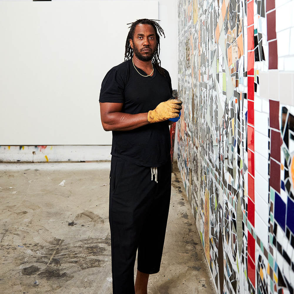 Rashid Johnson - le programme de mentorat